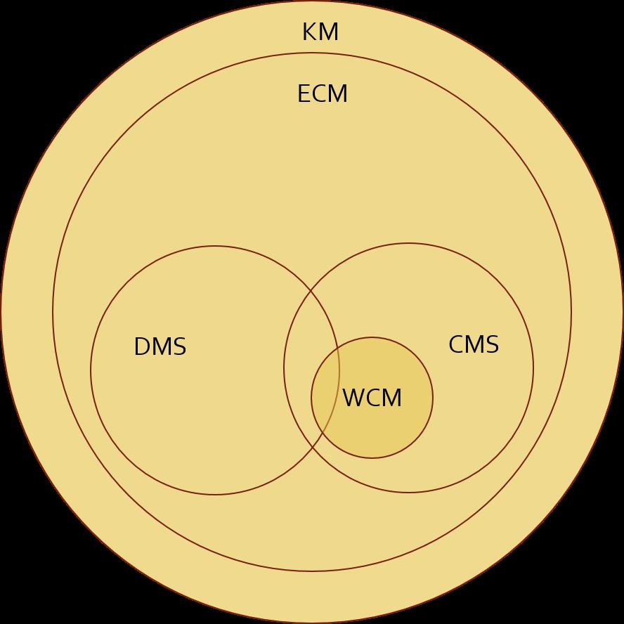 Tietämyksenhallinnan käsitteiden suhteet